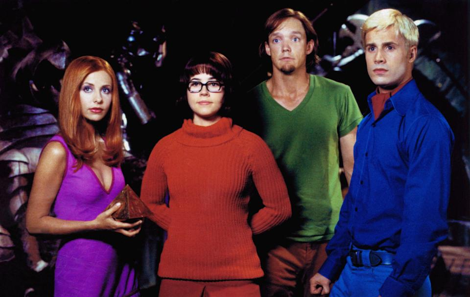 "<p>Halloween movies can be light, fun, and mysterious—like this early-aughts <em>Scooby-Doo</em> reboot that stars Sarah Michelle Gellar, Freddie Prinze Jr., Linda Cardellini, and Matthew Lillard. </p> <p><a href=""https://www.amazon.com/gp/video/detail/B003EY62II/ref=atv_dl_rdr"" rel=""nofollow noopener"" target=""_blank"" data-ylk=""slk:Available to rent on Amazon Prime Video"" class=""link rapid-noclick-resp""><em>Available to rent on Amazon Prime Video</em></a></p>"