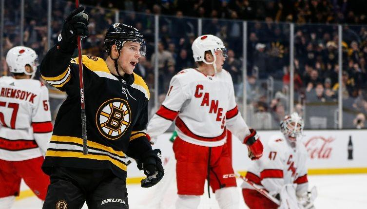 Joe Haggerty's Talking Points from the Bruins' 2-0 win over the Hurricanes