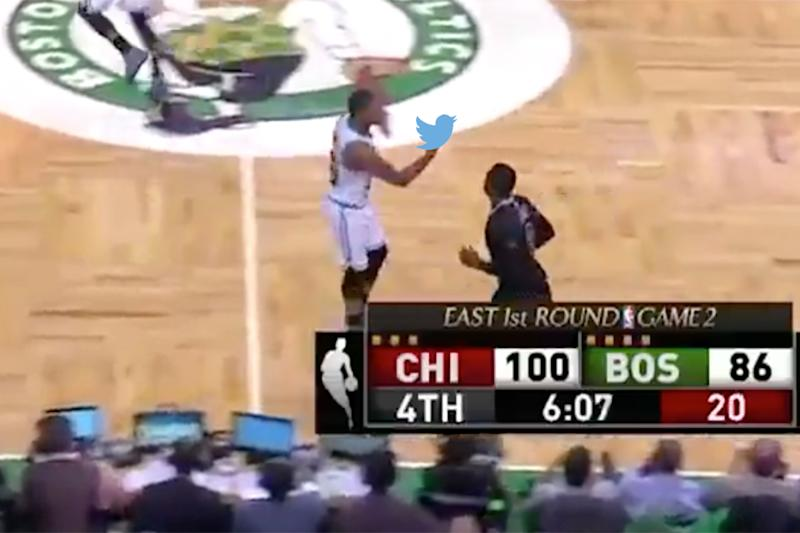 Robin Lopez Unties Jae Crowder's Sneakers in a Playoff Game