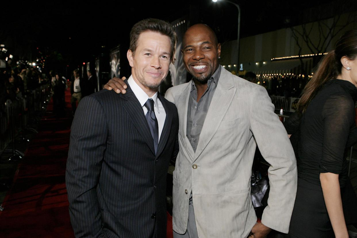 Mark Wahlberg and Director Antoine Fuqua during The Los Angeles Premiere of Paramount Pictures'