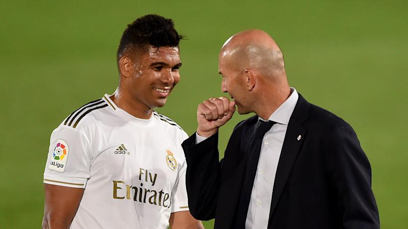 Casemiro: I still get nervous talking to Zidane