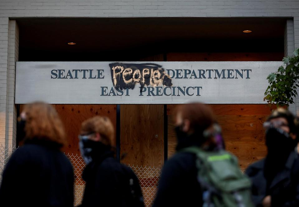 Image: Capitol Hill Autonomous Zone in Seattle (Lindsey Wasson / Reuters)