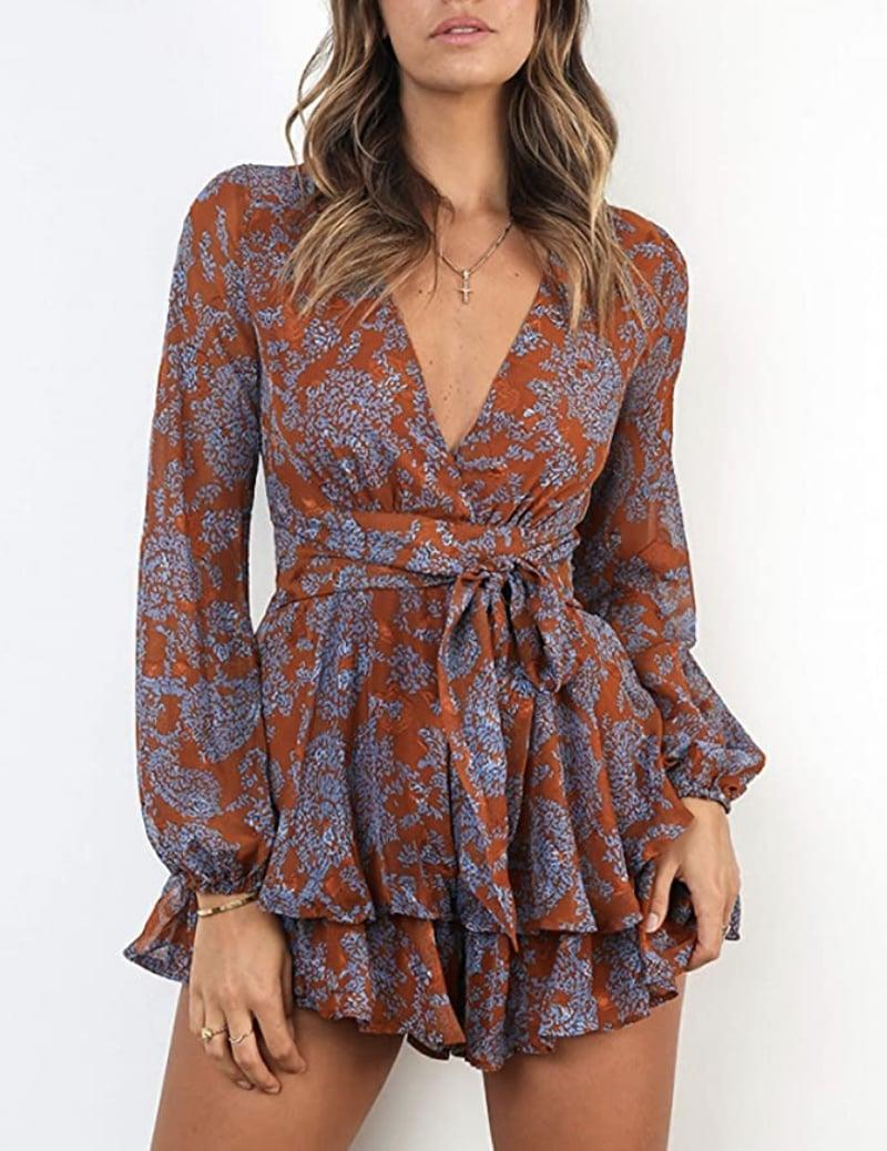 <p>This <span>Relipop Mini Dress Romper</span> ($24) is a dressy pick for brunch or an alfresco dinner.</p>