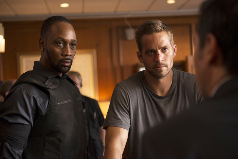RZA and Paul Walker in 'Brick Mansions'