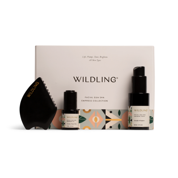 "<h2>Wildling Facial Gua Sha Collection<br></h2> <br>Gua sha tools are thought to improve circulation, revitalizing skin. This set will hydrate, soothe, and brighten the complexion. It's basically like having a mini-spa in your home.<br><br><strong>Wildling</strong> Facial Gua Sha Collection, $, available at <a href=""https://go.skimresources.com/?id=30283X879131&url=https%3A%2F%2Fwildling.com%2Fproducts%2Fempresscollection"" rel=""nofollow noopener"" target=""_blank"" data-ylk=""slk:Wildling"" class=""link rapid-noclick-resp"">Wildling</a><br>"