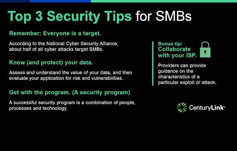 Top 3 Security Tips for SMBs