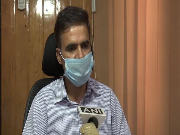 Farooq Ahmad Rather, Director, Department of Floriculture, Jammu and Kashmir speaking to ANI on Monday. (Photo/ANI)