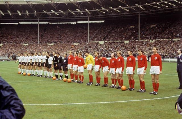 A ticket for the 1966 World Cup final cost just 10 shillings