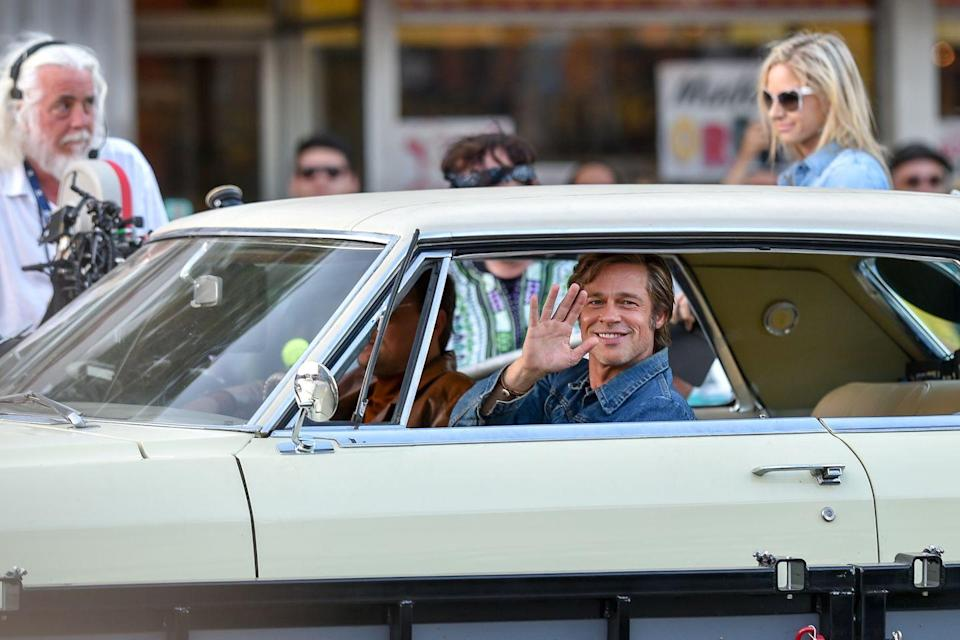 <p>Pitt was cast in Quentin Tarantino's highly-anticipated new film, <em>Once Upon a Time in Hollywood</em>, and was seen shooting scenes for the production in 2018.</p>