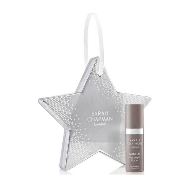 """<p><a rel=""""nofollow noopener"""" href=""""https://www.lookfantastic.com/sarah-chapman-star-tree-facial-oil-5ml/11529797.html"""" target=""""_blank"""" data-ylk=""""slk:Look Fantastic"""" class=""""link rapid-noclick-resp"""">Look Fantastic</a> - £19</p><p>Calling all beauty lovers! Swap the star at the top of your tree for Sarah Chapman's Star Facial Oil. Nourishing essential oils, protective antioxidants and plumping peptides make the serum-oil hybrid a must for anyone whose complexion looks dull, dry and deflated in the colder months. </p>"""