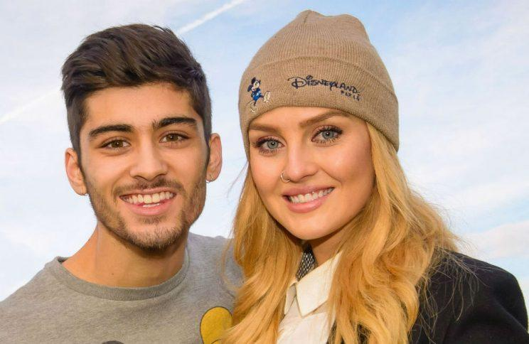 Zayn Malik and Perrie Edwards (Copyright: REX)