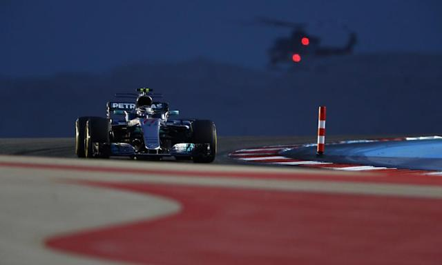 """<span class=""""element-image__caption"""">Valtteri Bottas during qualifying in Bahrain.</span> <span class=""""element-image__credit"""">Photograph: Clive Mason/Getty Images</span>"""