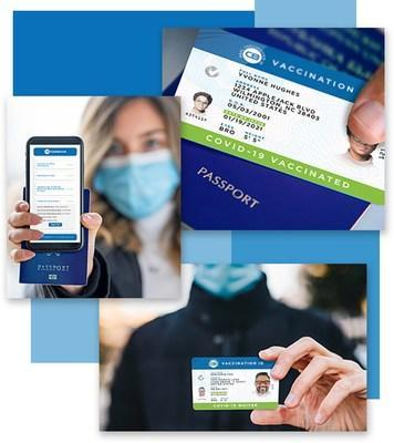 The CastleBranch Real Vaccination ID COVID-19 Waiver Card provides validated physical and digital proof of an individual's legally permissible waiver status.