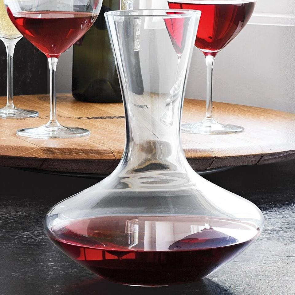<p>Raise a toast after using this <span>Schott Zwiesel Classico Red Wine Decanter</span> ($40).</p>