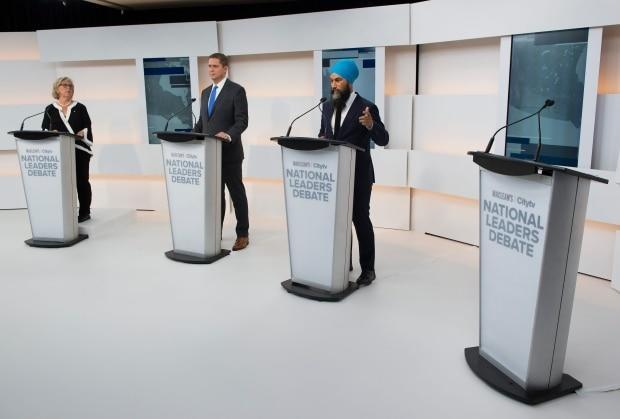 Opponents pounce on Liberal record after Trudeau's no-show at leaders' debate