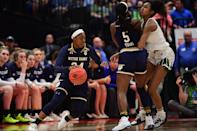 Best sport: women's basketball. Trajectory: steady. The football team had its best season since 2012, and while that's always the headliner at Notre Dame, a lot of other things went right as well. Women's hoops nearly pulled off a repeat national title, while making its seventh Final Four of the decade. The Fighting Irish were strong, as usual, in fencing and lacrosse, and also had good seasons in men's soccer and both men's and women's cross country.