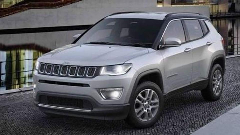 Jeep Compass available with benefits worth Rs. 2 lakh