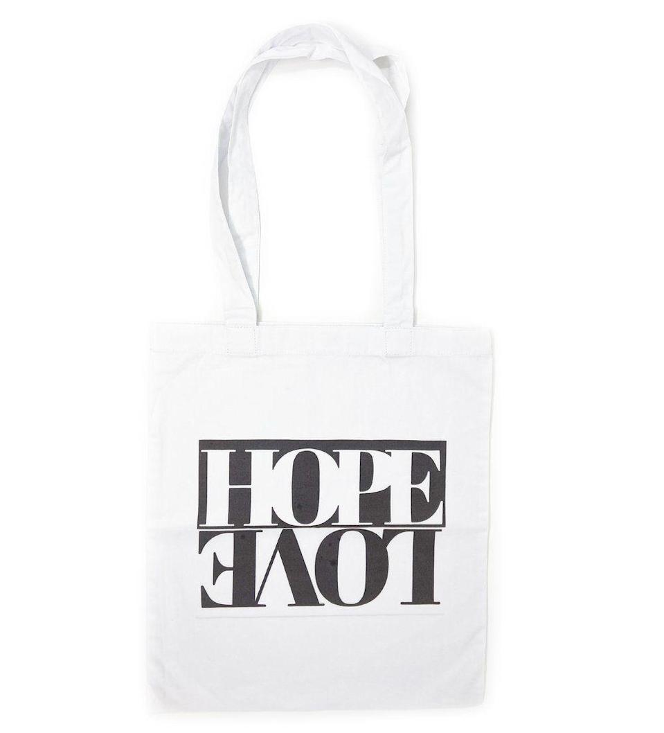 """<p>ibumovement.com</p><p><strong>$30.00</strong></p><p><a href=""""https://ibumovement.com/collections/ali4ibu-holiday-2020/products/hope-love-canvas-tote-black-and-white"""" rel=""""nofollow noopener"""" target=""""_blank"""" data-ylk=""""slk:Shop Now"""" class=""""link rapid-noclick-resp"""">Shop Now</a></p>"""