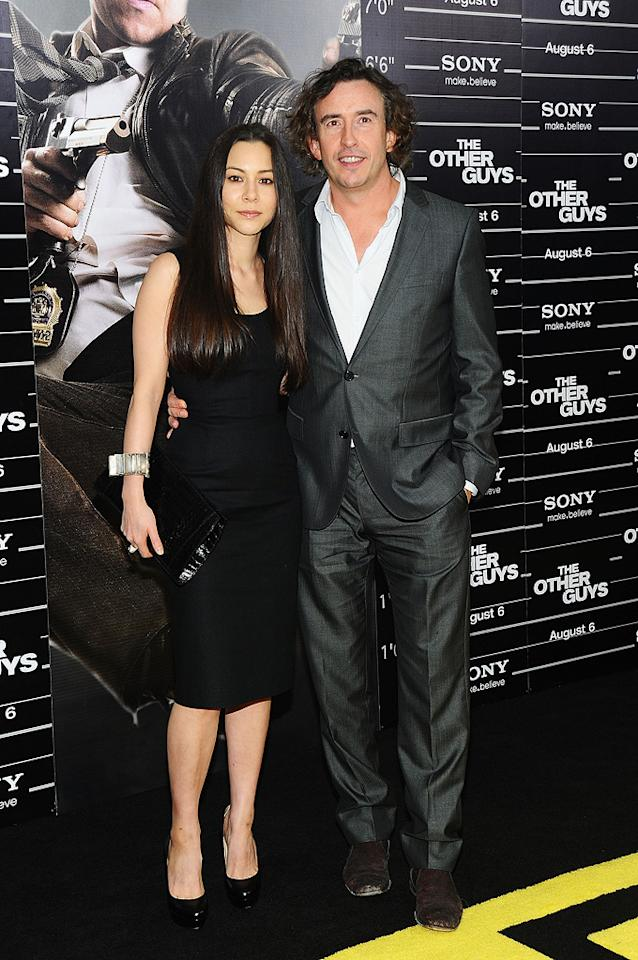 "<a href=""http://movies.yahoo.com/movie/contributor/1800354052"">China Chow</a> and <a href=""http://movies.yahoo.com/movie/contributor/1800026875"">Steve Coogan</a> at the New York City premiere of <a href=""http://movies.yahoo.com/movie/1810116447/info"">The Other Guys</a> - 08/02/2010"