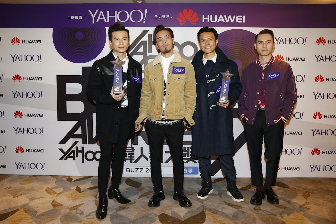 <p>AllStar wins for both Top Buzz Local Group and Top Buzz MV at the Yahoo Asia Buzz Awards 2017 in Hong Kong on Wednesday (6 December).</p>