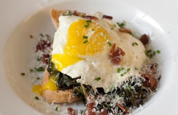 Egg Recipes Braised Kale and Egg