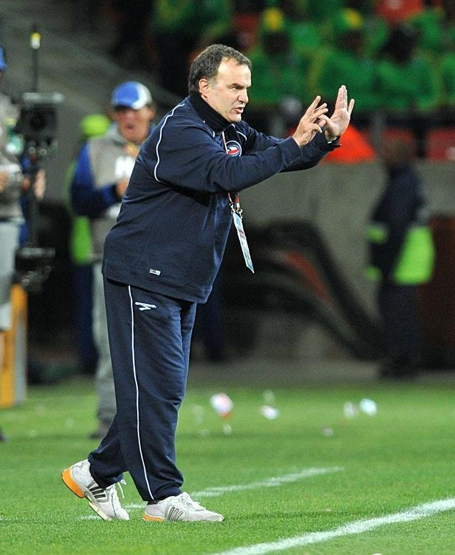 Bielsa led Chile at the 2010 World Cup