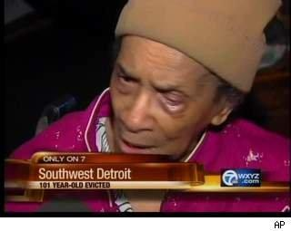 101 year old evicted