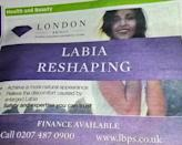 """<p>Five individuals took issue with the fact that London Bridge Plastic Surgery clinic's ad made references to """"a more natural appearance"""" and """"enlarged labia."""" The ASA viewed this as """"socially irresponsible."""" <i>(Photo @<a href=""""https://twitter.com/EmmaDixon_Green/status/696969945452781570"""" rel=""""nofollow noopener"""" target=""""_blank"""" data-ylk=""""slk:EmmaDixon/Twitter"""" class=""""link rapid-noclick-resp"""">EmmaDixon/Twitter</a>)</i><br></p>"""