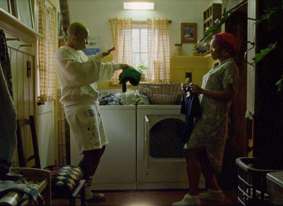 """Lena Waithe as Denise and Naomi Ackie as Alicia in """"Master of None."""""""
