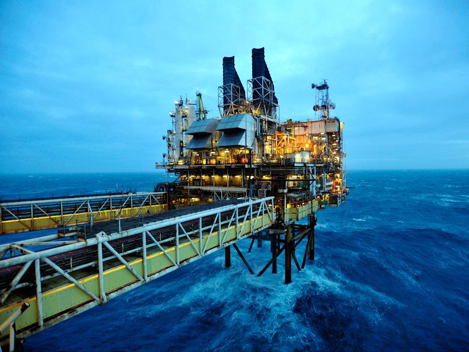 The Cambo oil field would operate in the North Sea until 2050 (Getty Images)
