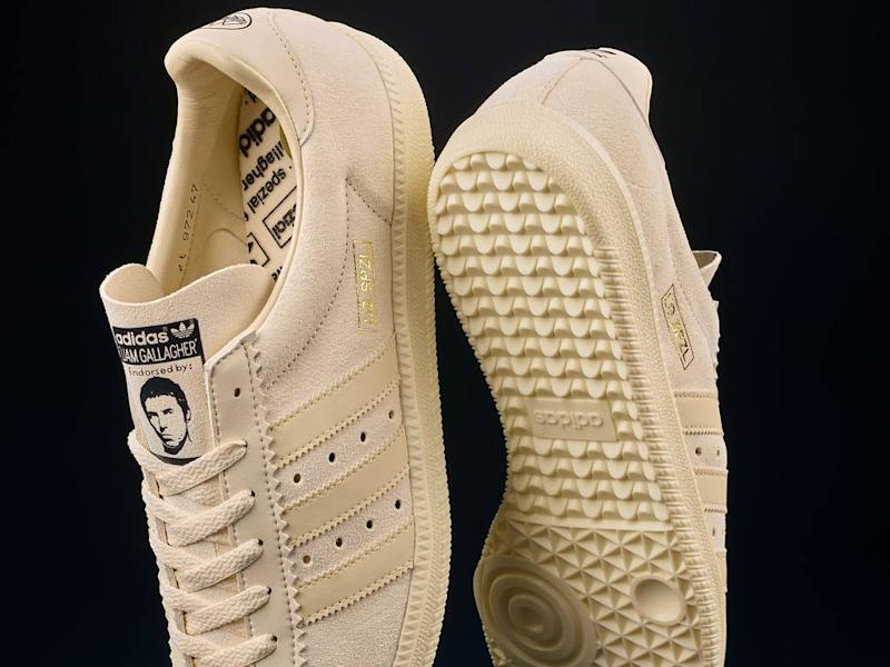 Liam Gallagher collaborates with Adidas on limited-edition sneaker