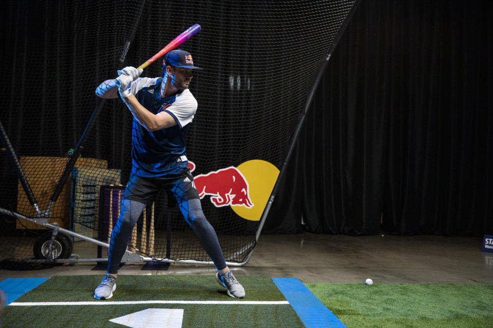Could we see the MLB eventually introduce a skills-like challenge to All-Star festivities? Kris Bryant hopes so. (Photo by Mike Killion / Red Bull Content Pool)