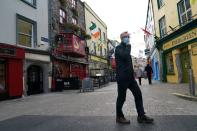 FILE PHOTO: Outbreak of the coronavirus disease (COVID-19) pandemic in Galway