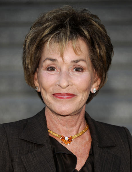 "FILE - In this April 17, 2012 file photo, Judge Judy Sheindlin attends the Vanity Fair Tribeca Film Festival party at the State Supreme Courthouse in New York. ""Judge Judy"" is such a familiar part of daytime TV that now, in the post-Oprah Winfrey syndication world, it's easy to overlook how dominant it is. The show averaged 10.1 million viewers each day during the third week of January, a typical week, more than the next three courtroom shows combined, the Nielsen company said. (AP Photo/Evan Agostini, file )"