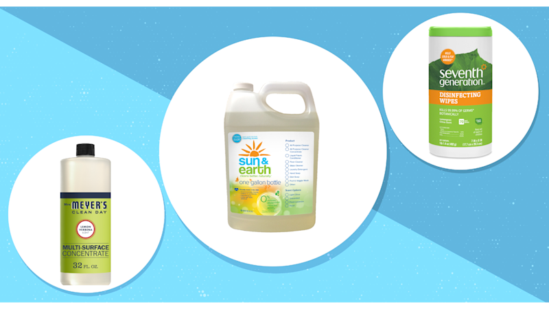Check out these non-toxic cleaning products available now at walmart.