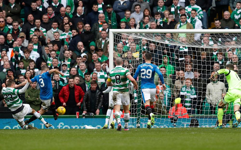 Clint Hill -Celtic manager Brendan Rodgers warns officials against making blunders in Scottish Cup semi-final with Rangers at Hampden Park - Credit: Reuters
