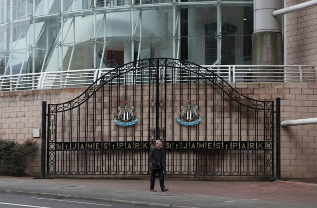 El St James' Park en la ciudad de Newcastle-upon-Tyne