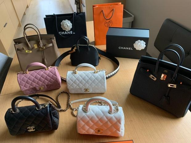 These designer handbags are hot commodities, says Pui, who hopes to sell some for more than $25,000.