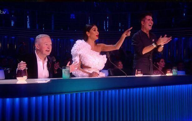 Simon and Nicole applauded Thom's comments (Photo: ITV)