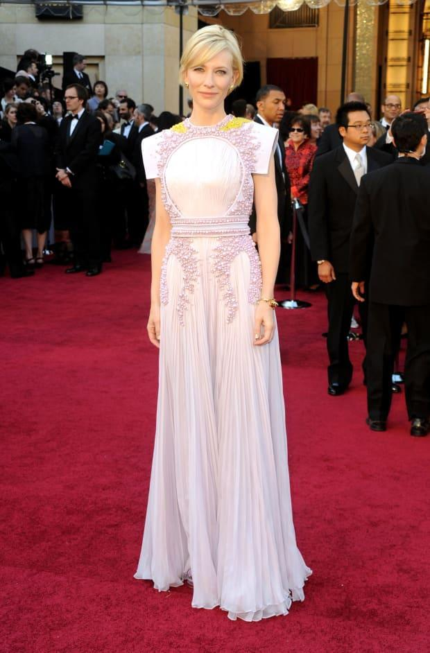 Cate Blanchett in Givenchy Couture at the 2011 Academy Awards. <p>Photo: Frazer Harrison/Getty Images</p>
