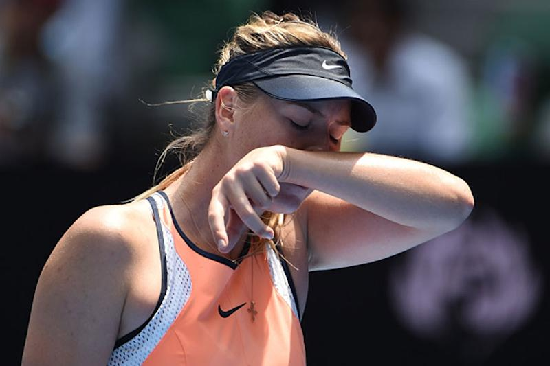 Error-prone Sharapova Falls to Garcia in Stuttgart Opener