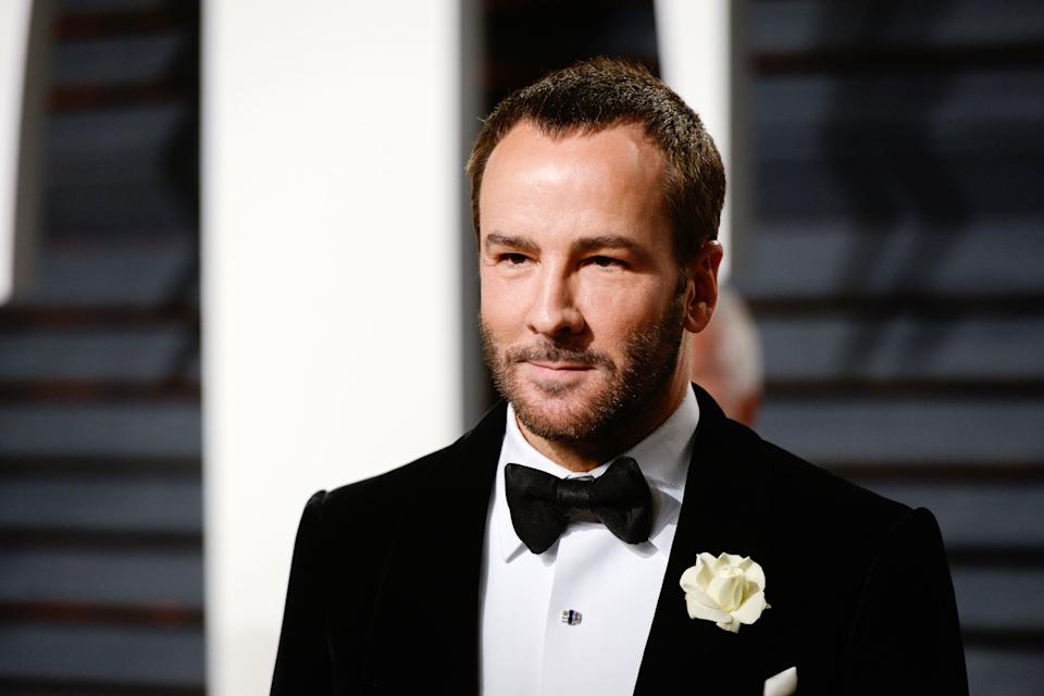 """Tom Ford was <a href=""""http://www.huffingtonpost.com/entry/tom-ford-melania-trump_us_58402a08e4b017f37fe2d6b0"""">refusing to dress Melania Trump</a> even before she became first lady. Ford said on""""The View"""" in December 2016 that he'd previously declined to dress Trumpbecause sheis """"not necessarily myimage,"""" adding his belief thatthe first lady, no matter who she is, should wear clothing the American people can relate to. President-elect Donald Trump responded by claimingFord was <a href=""""http://www.huffingtonpost.ca/2017/01/18/donald-trump-tom-ford_n_14253600.html"""">never asked to dress his wife.</a> """"I'm not a fan of Tom Ford,"""" he said."""
