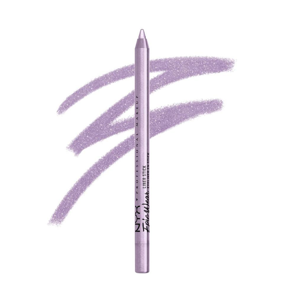 """Leanne's go-to colored pencil is the Nyx Professional Makeup Epic Wear Liner Stick. """"They have an excellent formula that allows the product to glide on easily, and then, it sets for a long-lasting, 36-hour finish,"""" she shares. Not everyone may be looking for that kind of staying power, but it's a fun fact to keep in mind if you're looking for the right liner to outlast a boozy brunch or long day at the beach."""