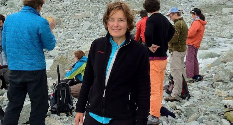 Photo of Suzanne Eaton who police believe was murdered by a Greek man on the island of Crete.