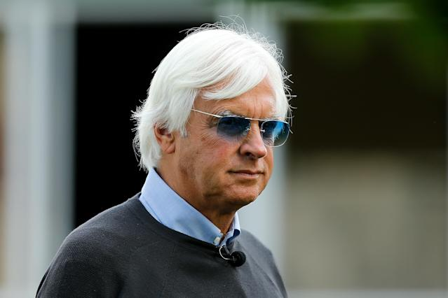 Bob Baffert is embroiled in another doping scandal. (Michael Reaves/Getty Images)