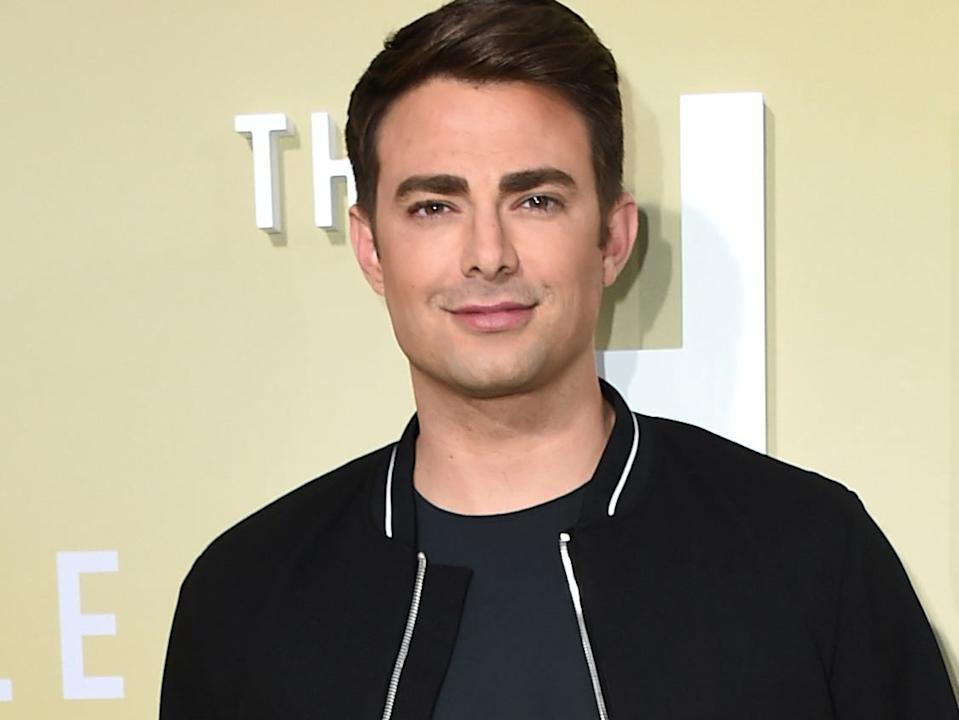 """Jonathan Bennett at the Los Angeles premiere of """"The Hustle"""" in May 2019."""
