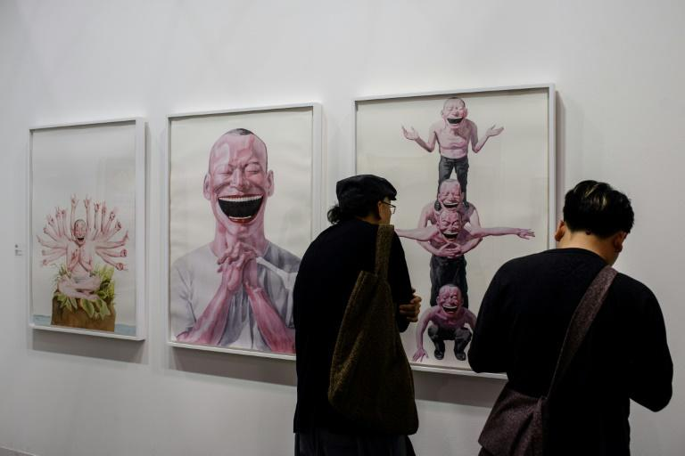Chinese collectors have flown in to attend VIP events at Art Basel in Hong Kong where they are hoping to indulge their taste for contemporary art