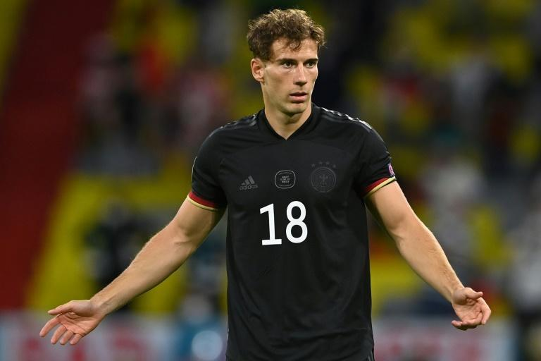 Germany midfielder Leon Goretzka bulked up his upper-body during last year's lockdown due to Covid-19