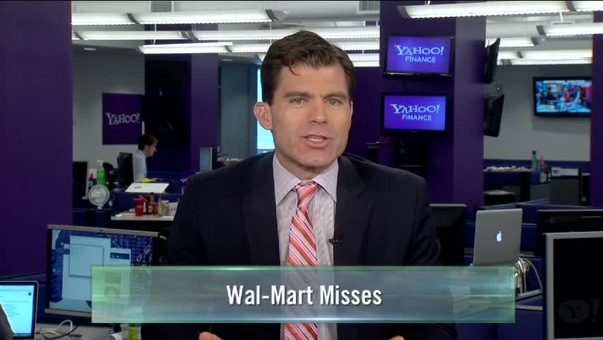 Behind Wal-Mart's Earnings Miss; Weekly Jobless Claims; What Billionaires Are Buying