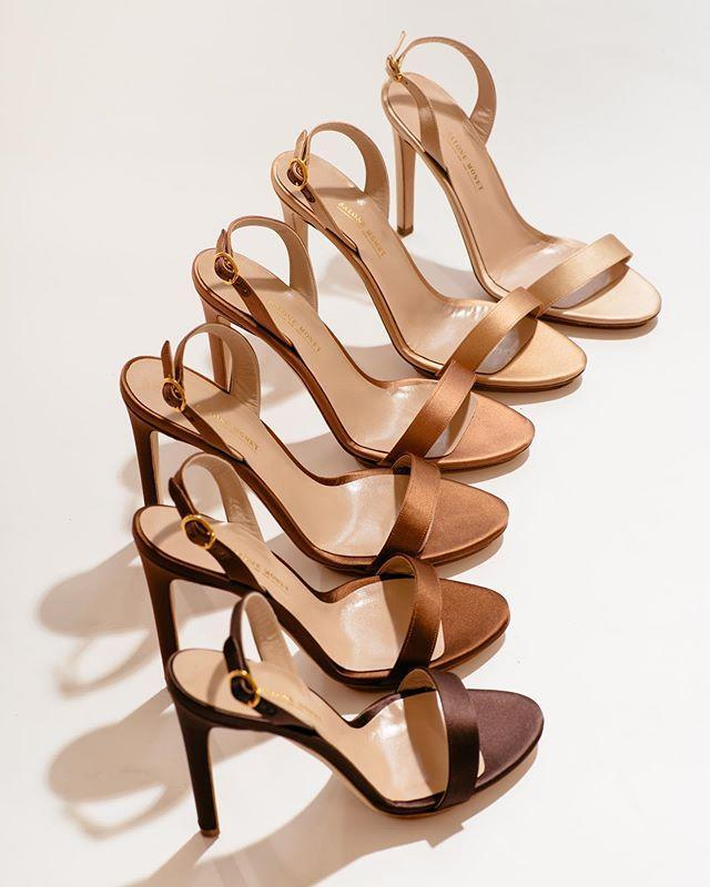 """<p>Not all nudes are made equal, so Salone Monet gave us six different shades to choose from. Ranging from four-inch stilettos to two-inch kitten heels, each shoe comes in a satin finish for a luxurious touch to the simplest outfit.<strong><br></strong></p><p><strong>If you buy one thing</strong>: Sable, $295</p><p><a class=""""link rapid-noclick-resp"""" href=""""https://www.salonemonet.com/shop/stiletto-2"""" rel=""""nofollow noopener"""" target=""""_blank"""" data-ylk=""""slk:SHOP NOW"""">SHOP NOW</a></p><p><a href=""""https://www.instagram.com/p/B8mUpEXJAcH/"""" rel=""""nofollow noopener"""" target=""""_blank"""" data-ylk=""""slk:See the original post on Instagram"""" class=""""link rapid-noclick-resp"""">See the original post on Instagram</a></p>"""